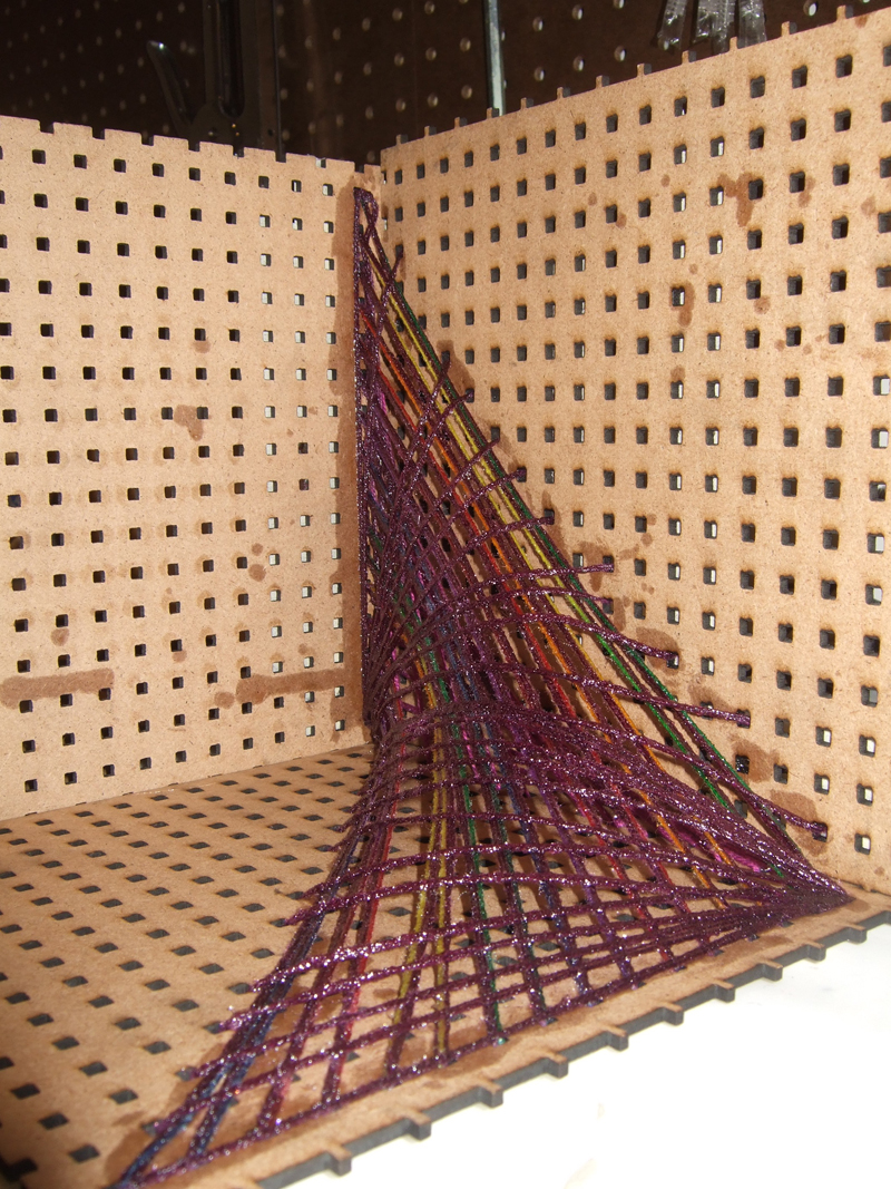 Ruled Surfaces Amp String Sculptures New Textiles 2012