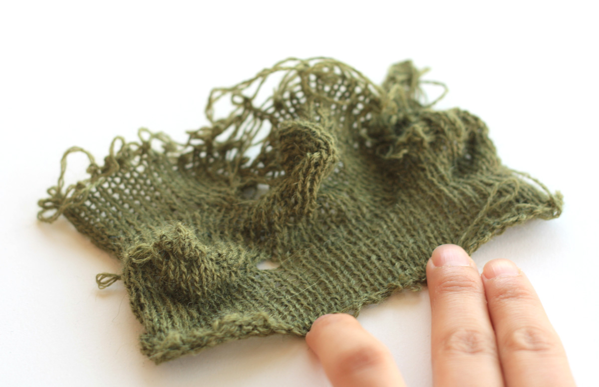 terrain � knitted landscape new textiles 2012